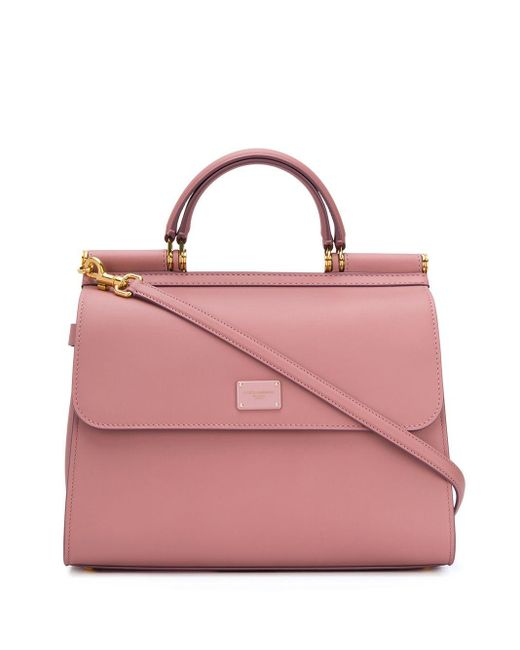 Bolso Sicily 58 2way Dolce & Gabbana de color Pink