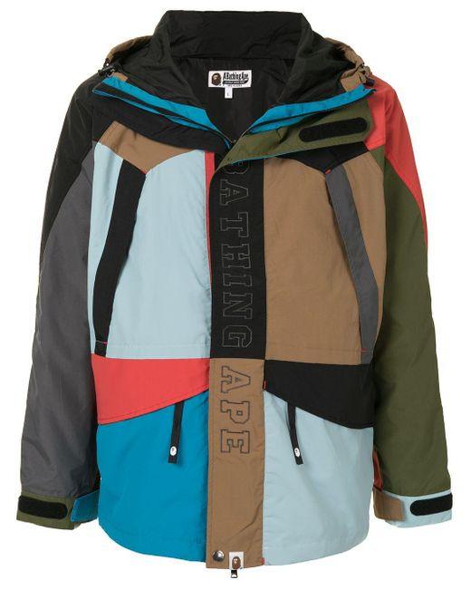 メンズ A Bathing Ape Cordura スキージャケット Multicolor