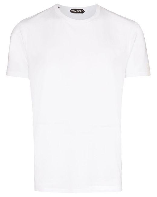 Tom Ford White Classic T-shirt for men