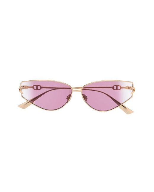 Occhiali da sole Gipsy 2 con logo di Dior in Metallic