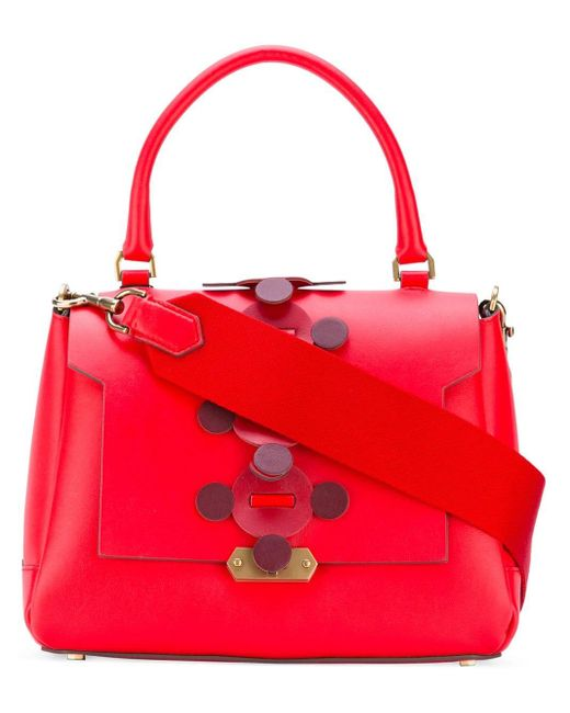 Anya Hindmarch Apex Small Bathurst トートバッグ Red