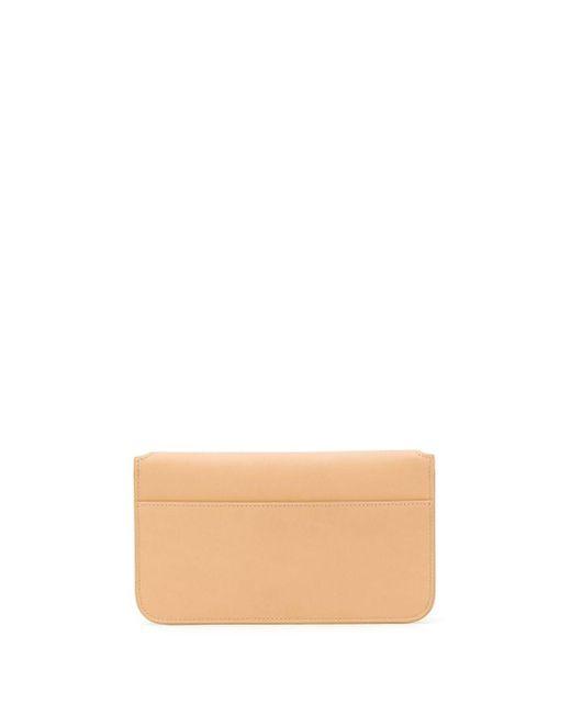 Кошелек С Откидным Клапаном Saint Laurent, цвет: Brown