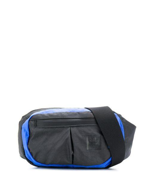 Adidas カラーブロック ベルトバッグ Multicolor