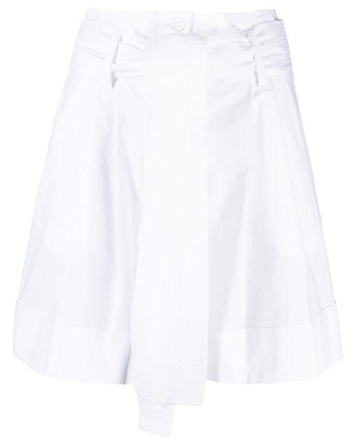 P.A.R.O.S.H. ハイウエスト ショートパンツ White