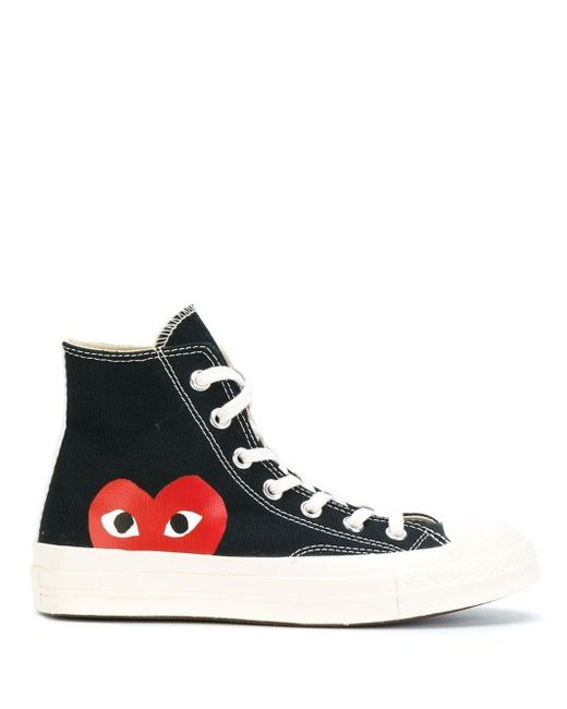 Sneakers Play Chuck Converse x Comme Des Garçons di COMME DES GARÇONS PLAY in Black
