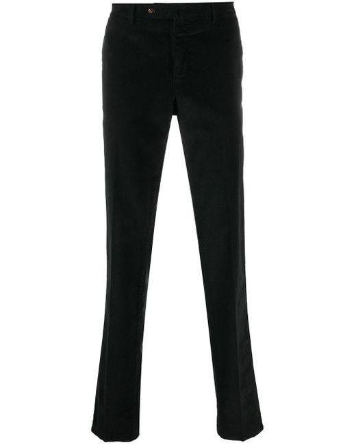 Pantalones de vestir slim PT01 de hombre de color Black