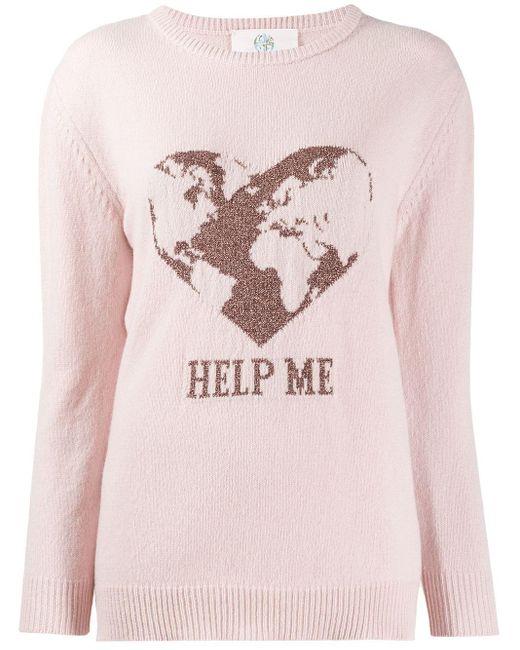 Alberta Ferretti カシミア セーター Pink