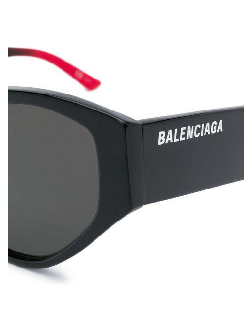 Balenciaga キャットアイ サングラス Black