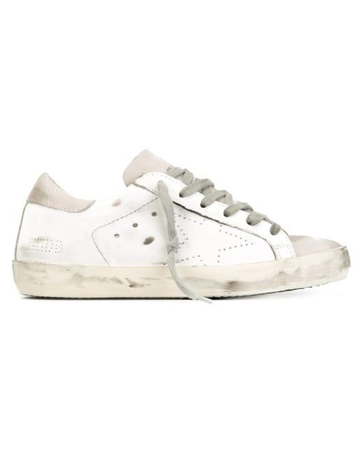 Golden Goose Deluxe Brand Super Star スニーカー White