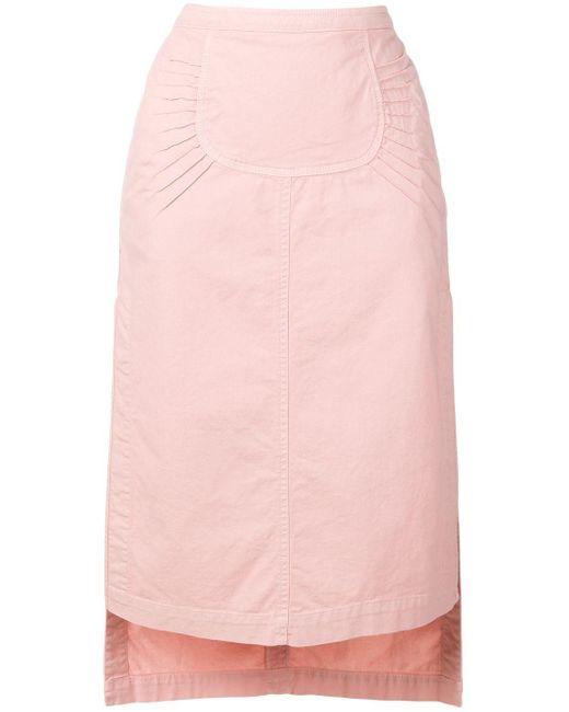 N°21 サイドスリット スカート Pink