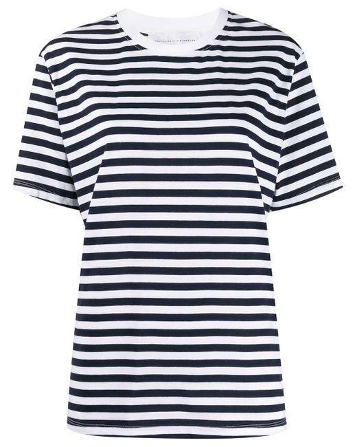 Victoria, Victoria Beckham Camiseta Victoria de mujer de color blanco