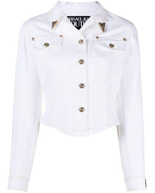 Versace Jeans デニムジャケット White