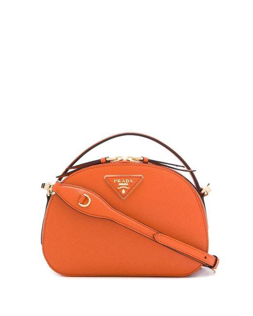 Sac porté épaule Odette Prada en coloris Orange