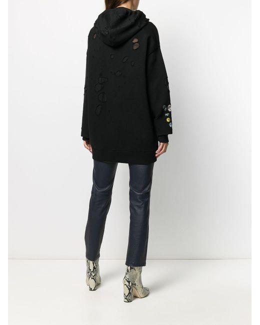 Givenchy オーバーサイズ パーカー Black