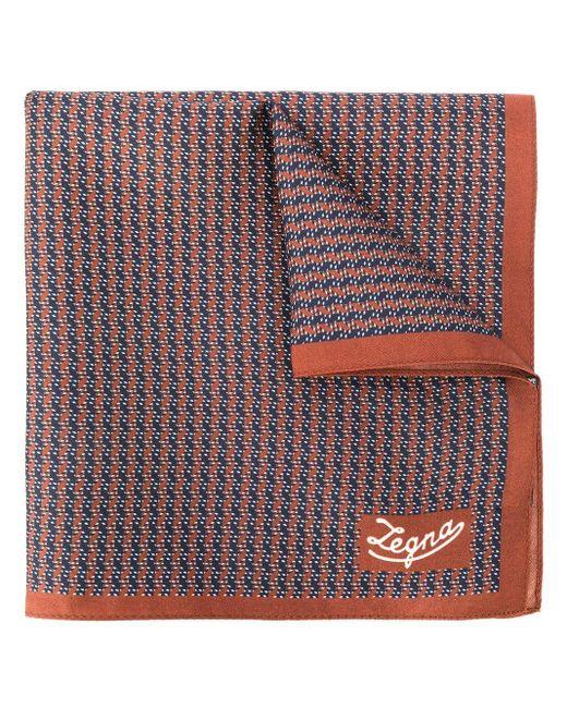 メンズ Ermenegildo Zegna ロゴ スカーフ Multicolor