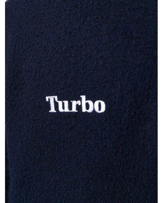Maglia con ricamo turbo di MSGM in Blue da Uomo