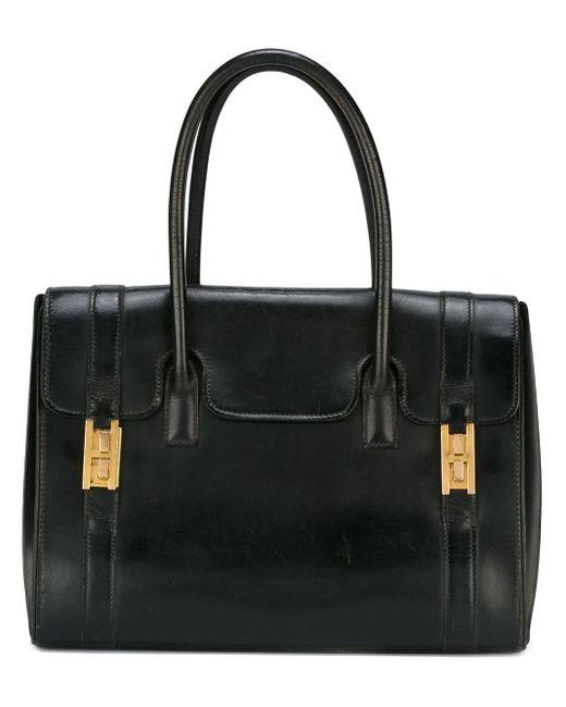 Hermès Drag Bag トートバッグ Black