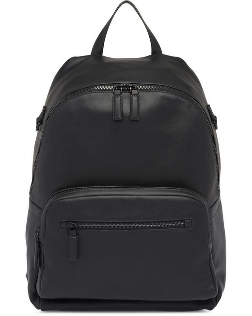 6e9786d60d97 ... new arrivals prada black leather backpack for men lyst ea2de 2f668