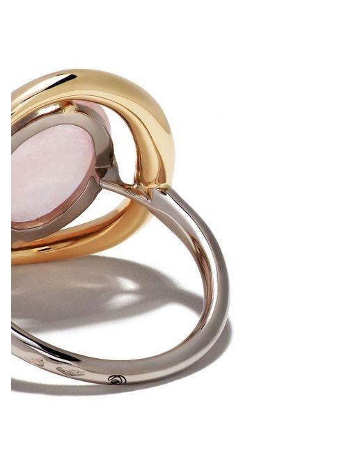 Charlotte Chesnais Project Special Surmesure ジェムストーン&ダイヤモンド リング 18kローズゴールド Pink