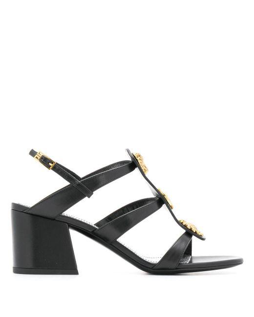 Givenchy Black Absatzsandalen Charm