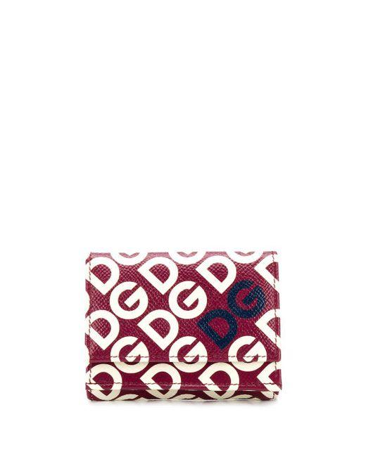 Dolce & Gabbana Dauphine Dg 財布 Red