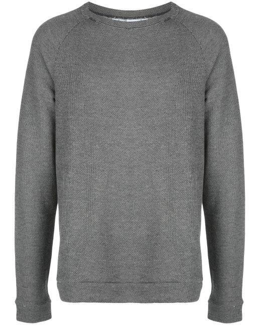 メンズ Onia Dave Raglan Speckle スウェットシャツ Gray