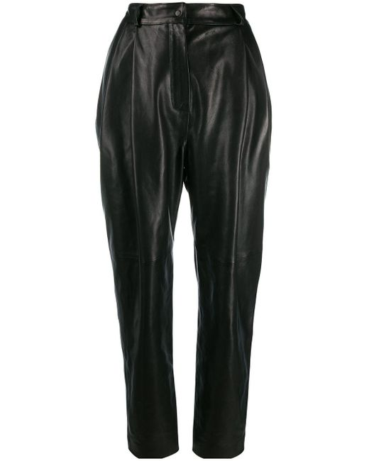 Pantaloni affusolati di Carmen March in Black