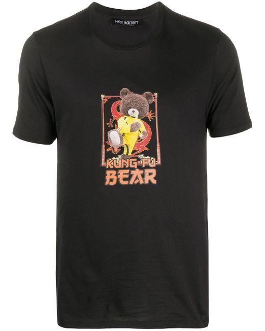 Neil Barrett T-Shirt mit grafischem Print in Black für Herren