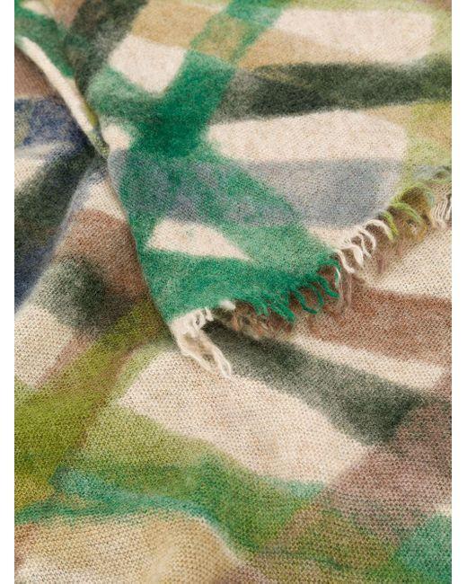 Faliero Sarti カシミア スカーフ Green