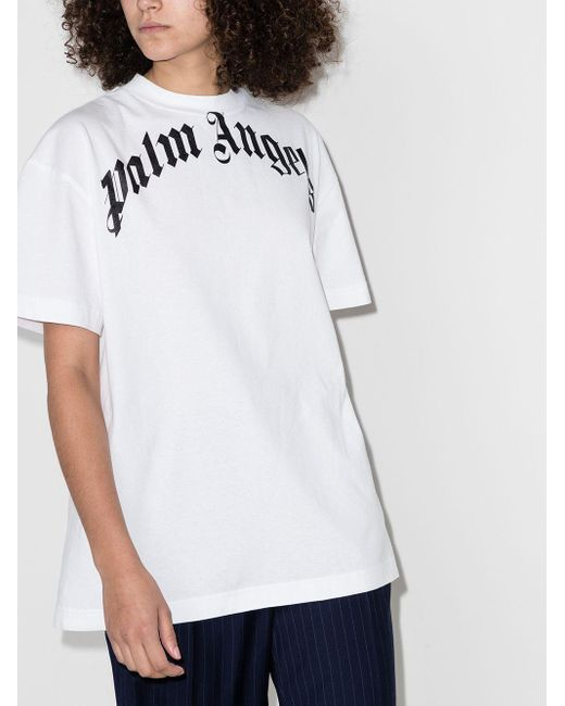 Palm Angels X Browns 50 Bear Tシャツ White