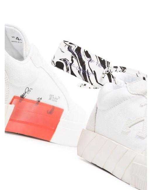 メンズ Off-White c/o Virgil Abloh キャンバス スニーカー White