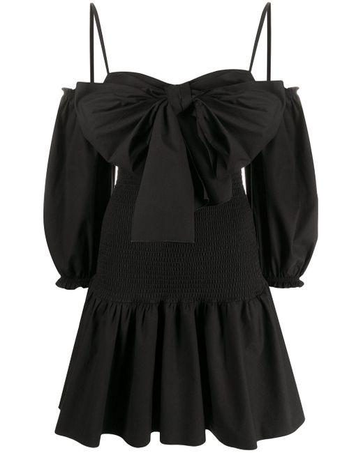 RED Valentino リボンディテール ドレス Black