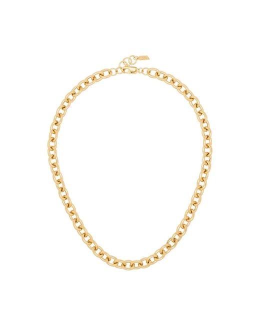 Loren Stewart Metallic Gold-tone Sterling Silver Necklace