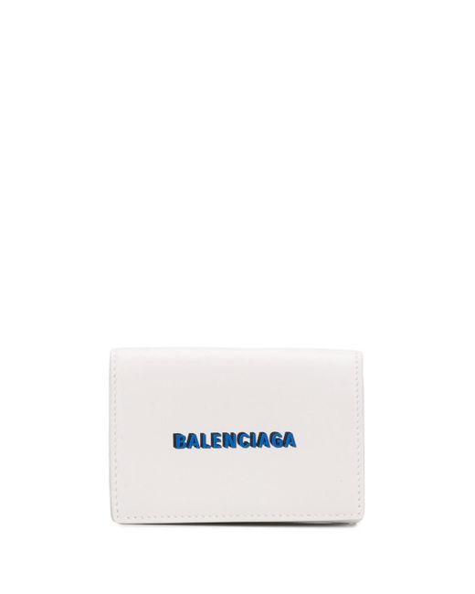 メンズ Balenciaga Cash 財布 White