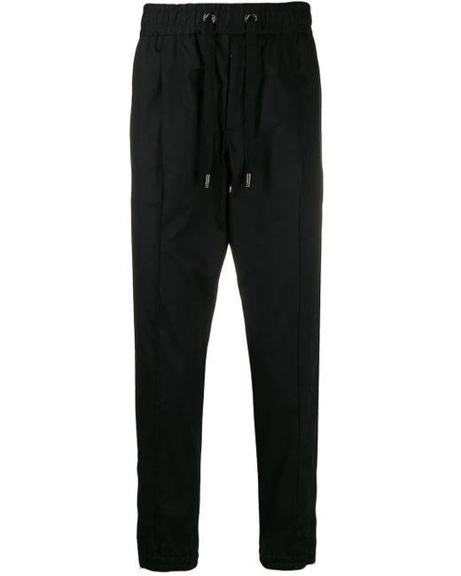 メンズ Dolce & Gabbana ロゴ トラックパンツ Black