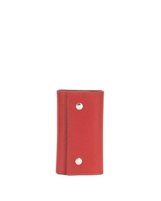 Hermès キーケース Red