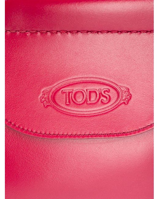 Tod's ロゴ ハンドバッグ Red