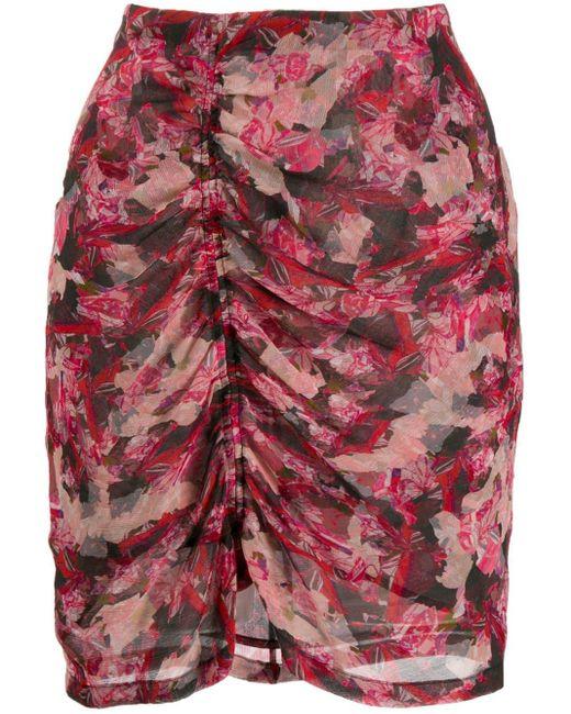 IRO シャーリング スカート Pink