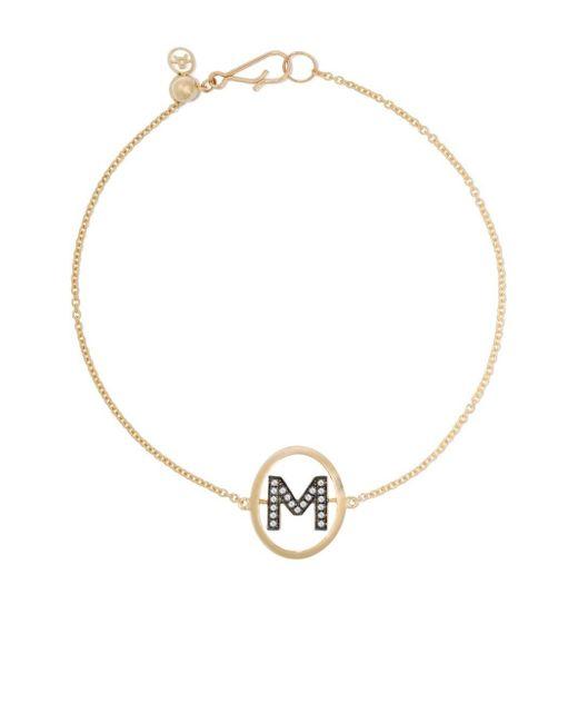 Annoushka M ダイヤモンド ブレスレット 18kイエローゴールド Metallic