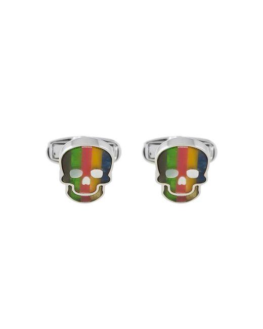 メンズ Paul Smith スカル カフスボタン Multicolor