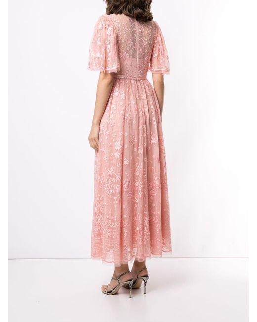 Needle & Thread Trudy Belle ドレス Pink