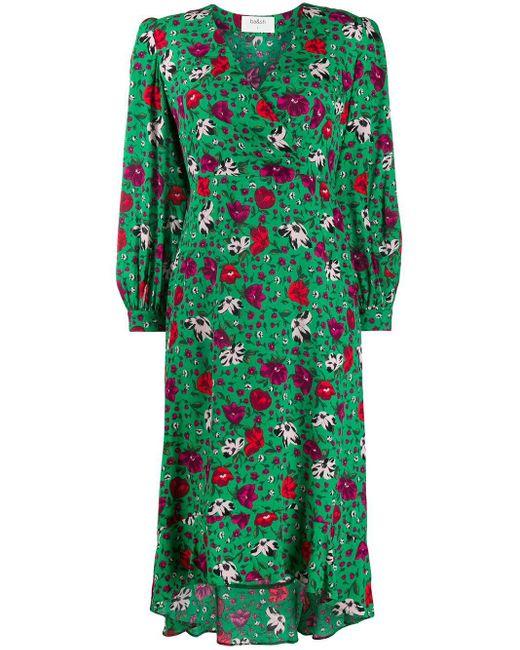 Ba&sh フローラル ドレス Green