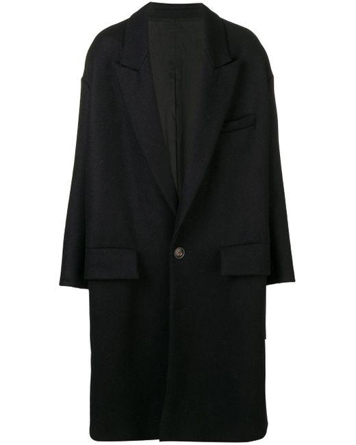 AMI オーバーサイズ コート Blue