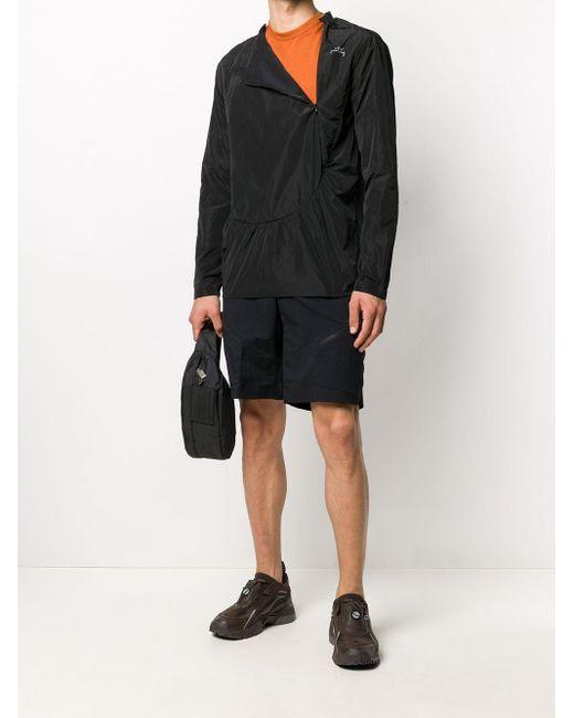 メンズ A_COLD_WALL* コンシールジップ スウェットシャツ Black