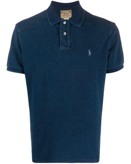 メンズ Polo Ralph Lauren ポロシャツ Blue