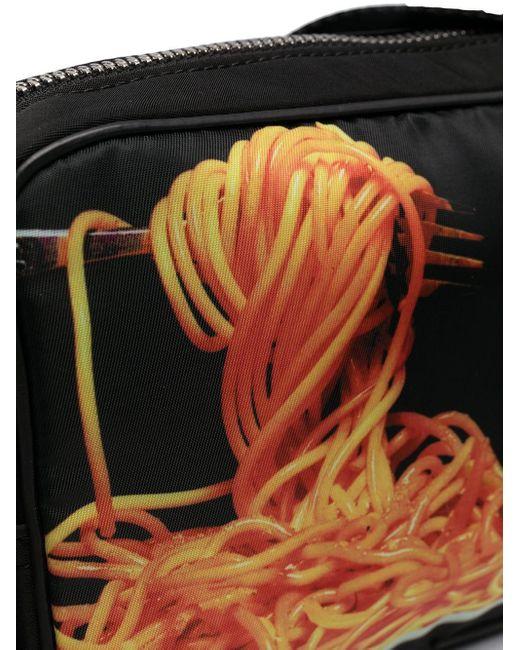 メンズ Paul Smith Spaghetti プリント ベルトバッグ Black