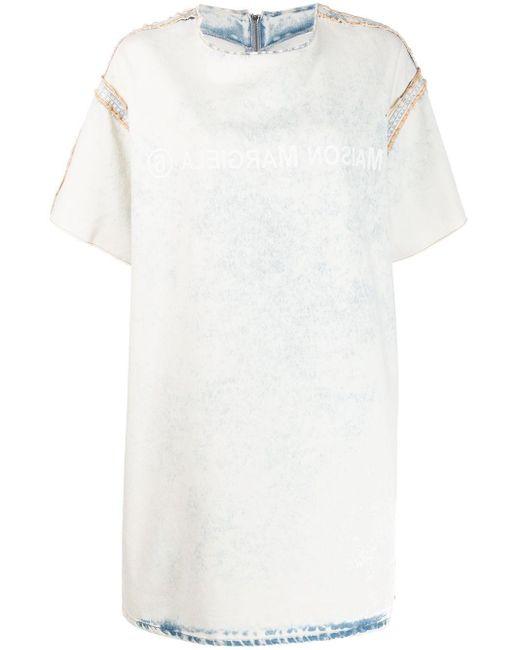 MM6 by Maison Martin Margiela Tシャツドレス White
