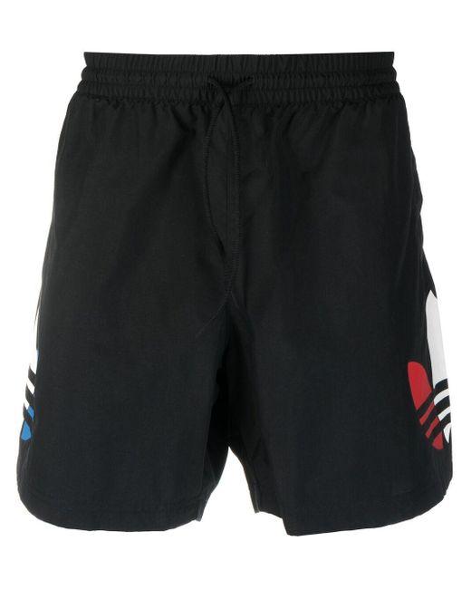 Шорты С Логотипом Adidas для него, цвет: Black