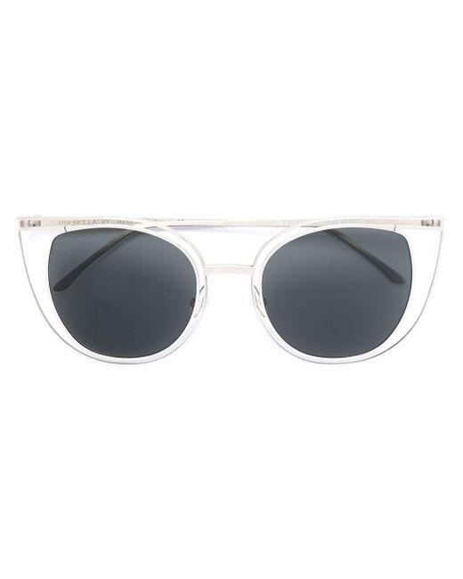 Thierry Lasry Gray Eventually Na500 Sunglasses