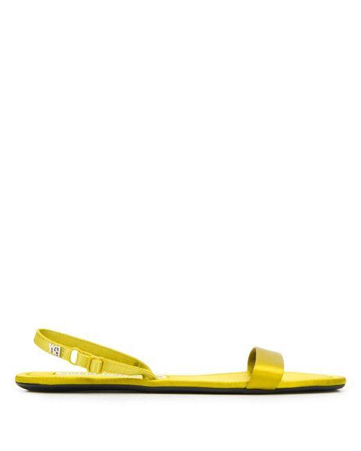 Alexander Wang フラット サンダル Yellow